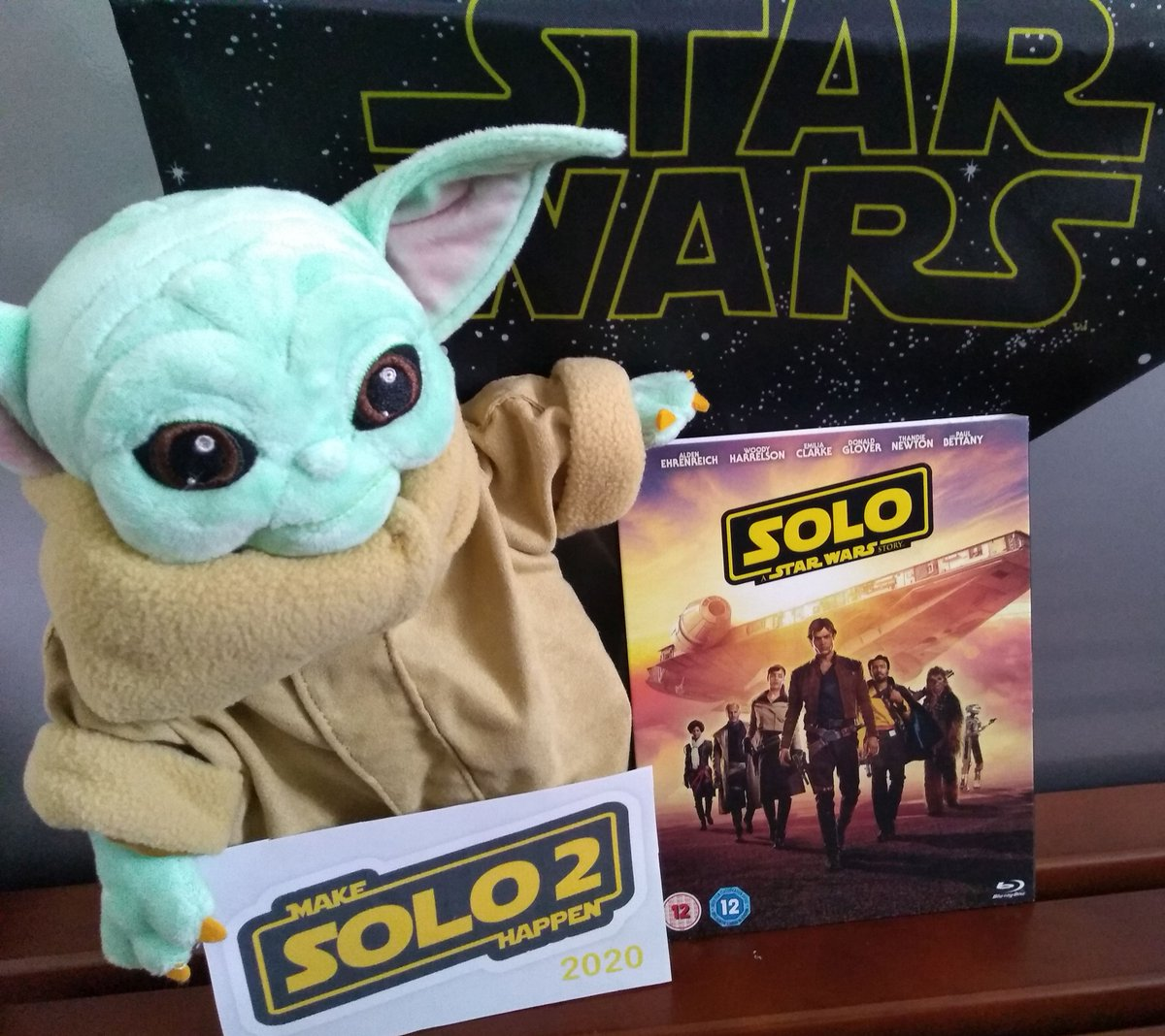 Don't disappoint The Child – Please help #MakeSolo2Happen @starwars @starwarsuk @disneyplus @DisneyPlusUK <br>http://pic.twitter.com/jSmLpRXd2M