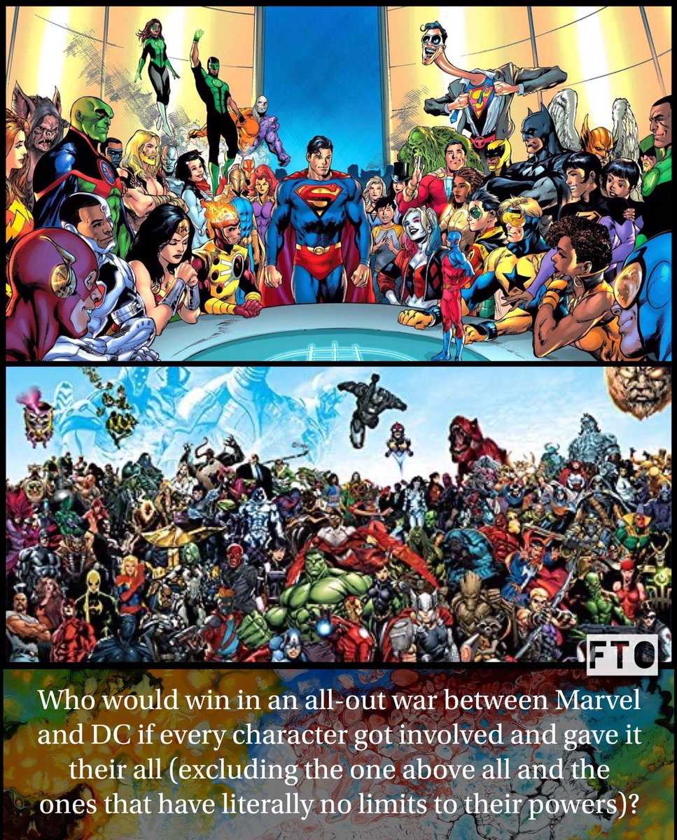 It's time to end this once an for all. Let's hear it!! Who will win?  #ftonerdtalk #comicbooks #marvel #dccomics #Marvel #marvelart #marvelous2 #marvel2019 #marvelfact #marvelhawkeye #marvelsketch #dccomicsid #dccomicsnow #dccomicsbr #dccomicsharleyquinn #dccomicsartpic.twitter.com/VI20OYzLu0