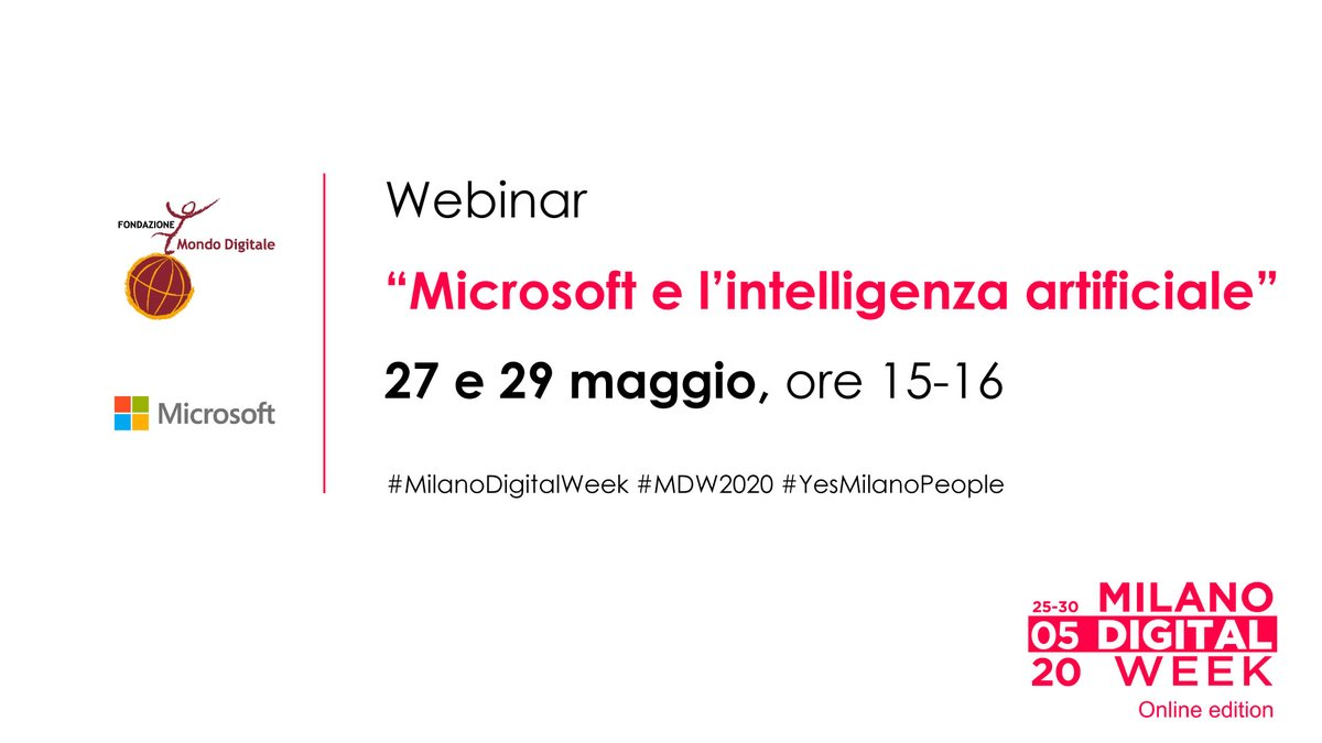#MilanoDigitalWeek