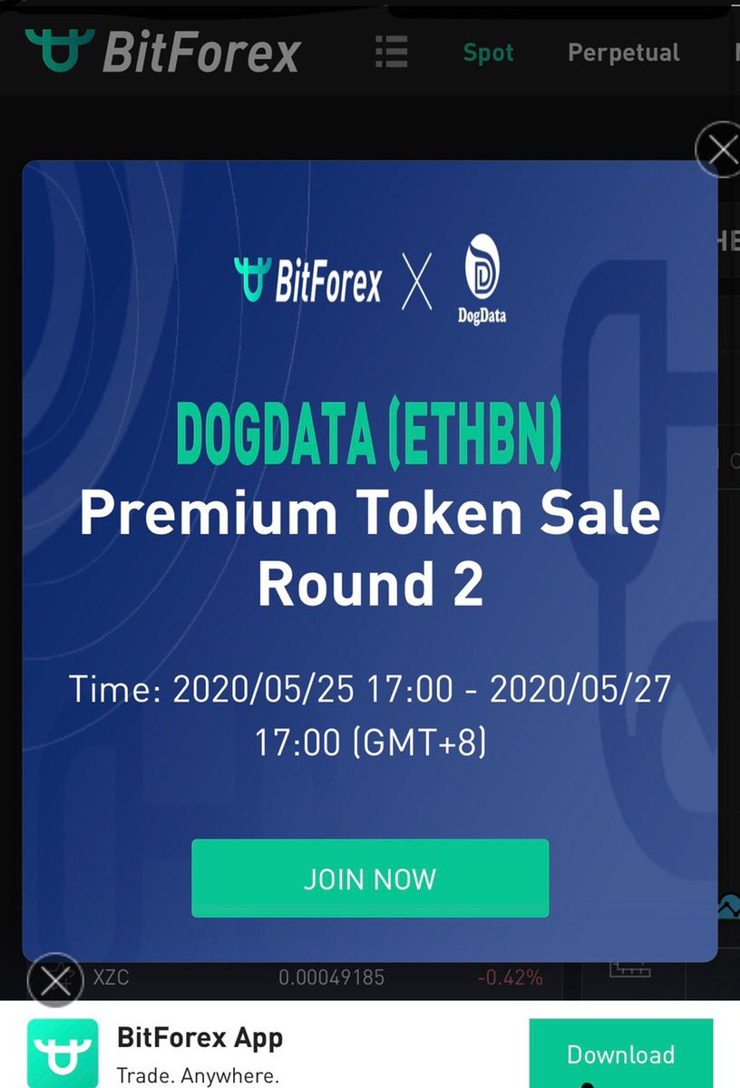 Monday 25 May 2020      EtherBone ETHBN $0.010 +   Last Discounted Sale Round    https://www. bitforex.com/en/spot/ethbn_ usdt   …   Listing Date 28 May 2020   #doglife #cryptonews #ieo #dogdata #ethbn #dogs #blockchain #bitforex #exchange #usdt #cryptocurrencynews #tokenoffering<br>http://pic.twitter.com/QhFf53Zs4P