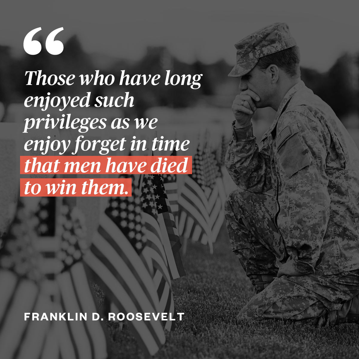 Today and every day, we remember all of those who gave their lives to serve our country. #MemorialDay