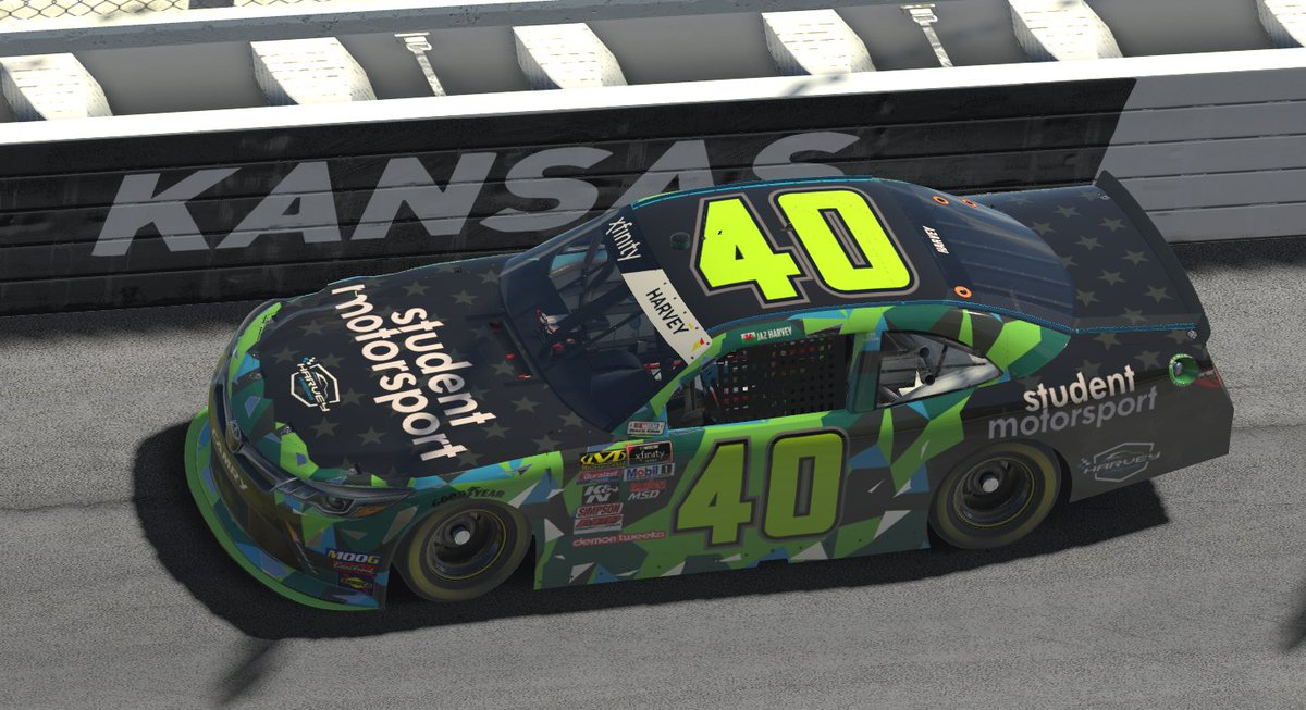 Impromptu bank holiday stream as we start to raise the excitement for #VertexSCC season two!  Live from 8pm BST tonight, streaming the practice race from @KansasSpeedway on @iRacing.  Come, watch and hang out: https://t.co/xKp4O7XhUw  #iRacing #eSports #NotTheGP #RaceAtHome https://t.co/OVaJQDk0hQ
