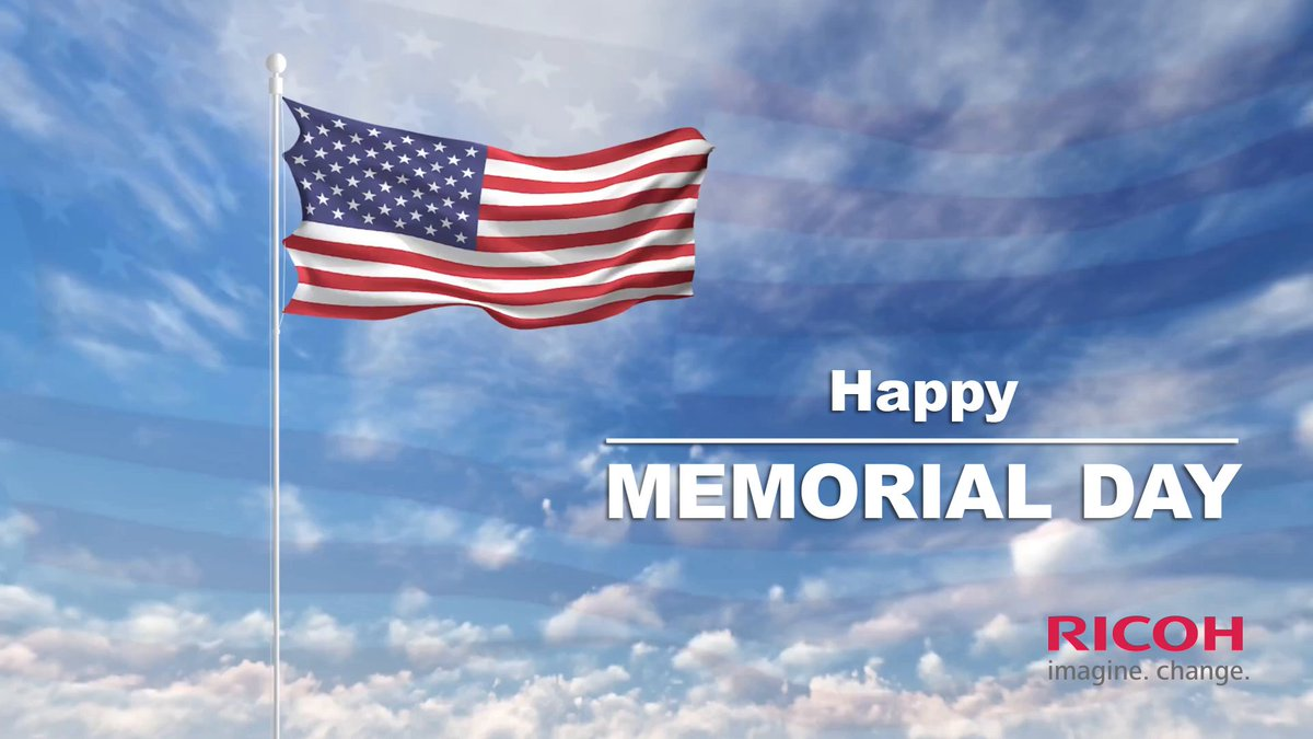 Image for the Tweet beginning: On this Memorial Day, we