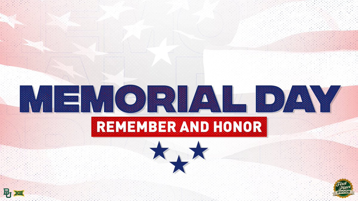 Today we honor those who made the ultimate sacrifice. 🇺🇸