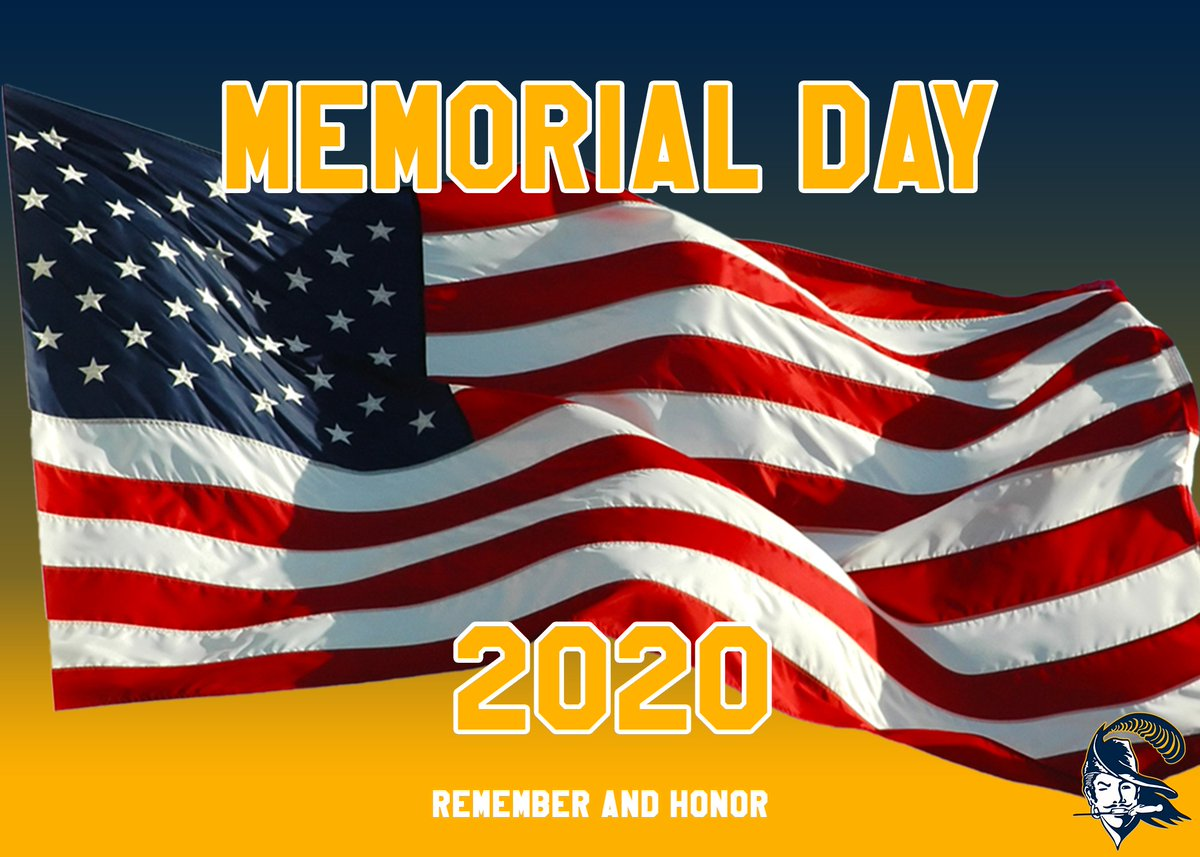 Happy Memorial Day. Remember and honor all who have fallen. #WIN. pic.twitter.com/fs94tub0Bf