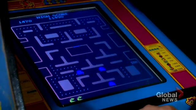 WATCH: It took Greg Sakundiak four hours, 23 minutes and 28 seconds to become the 2nd Canadian to ever record a perfect score in Pac-Man - via @PurdyGlobal. READ MORE: trib.al/fDOmu1k #sask #yxe