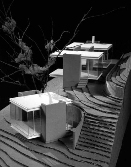 Tea Houses / Swatt | Miers Architects #architecture #arquitectura #ARCHITECTURALMODEL #model #maquetapic.twitter.com/tGgcVX1Jjh