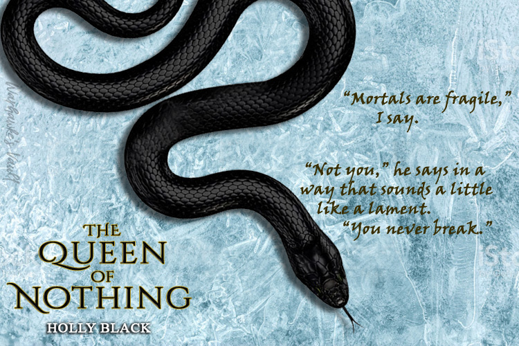 """""""By you, I am forever undone.""""  #BookReview: #TheQueenOfNothing by #HollyBlack https://wp.me/p5bsdH-3on  #WarhawkesVault #BookBlog #BookBlogger  #WarhawkesVaultReview  #BookTeaser #BookQuote #TheFolkOfTheAirpic.twitter.com/WhSFjt6ugC"""