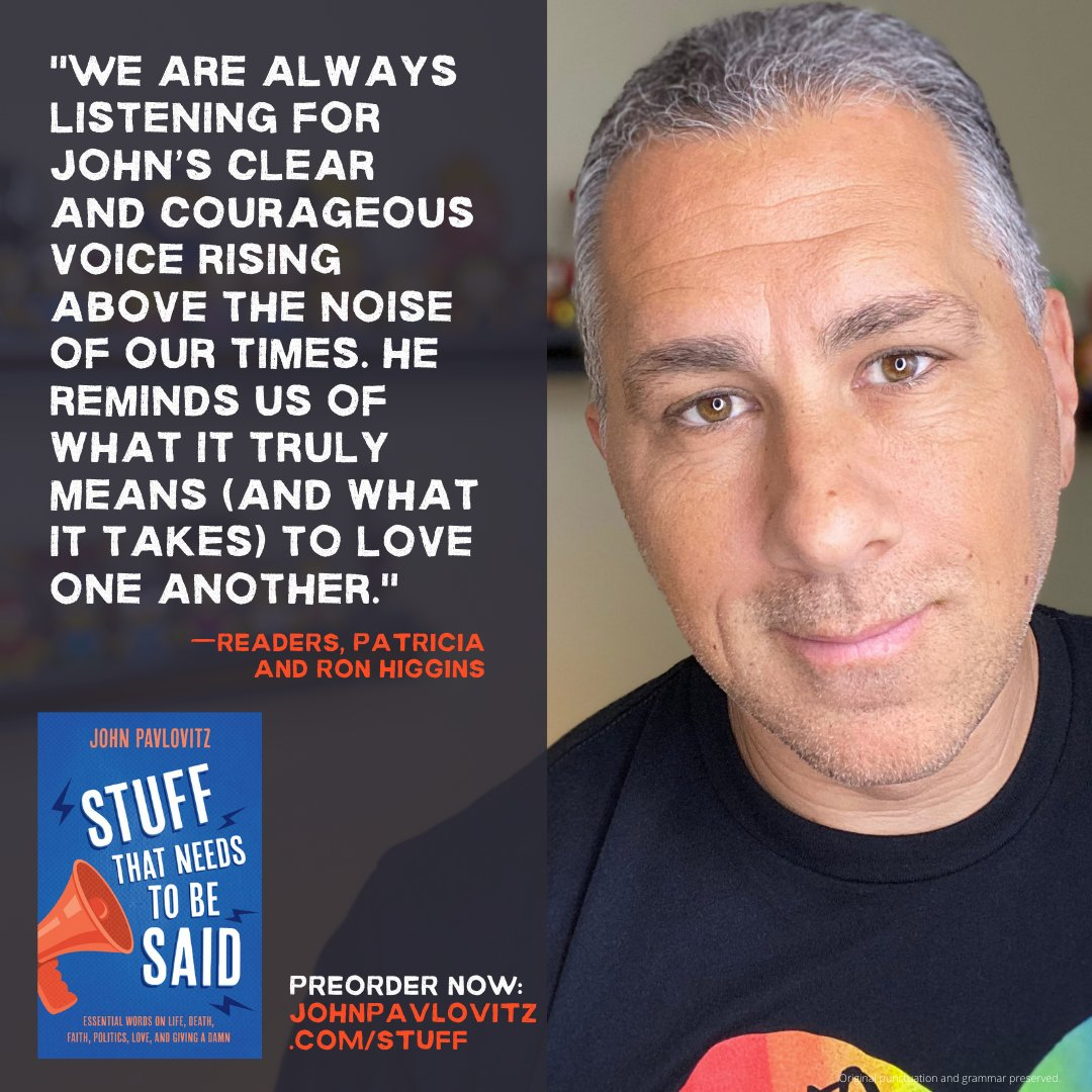 Preorder my forthcoming book 'Stuff That Needs To Be Said.' etsy.com/listing/811363…