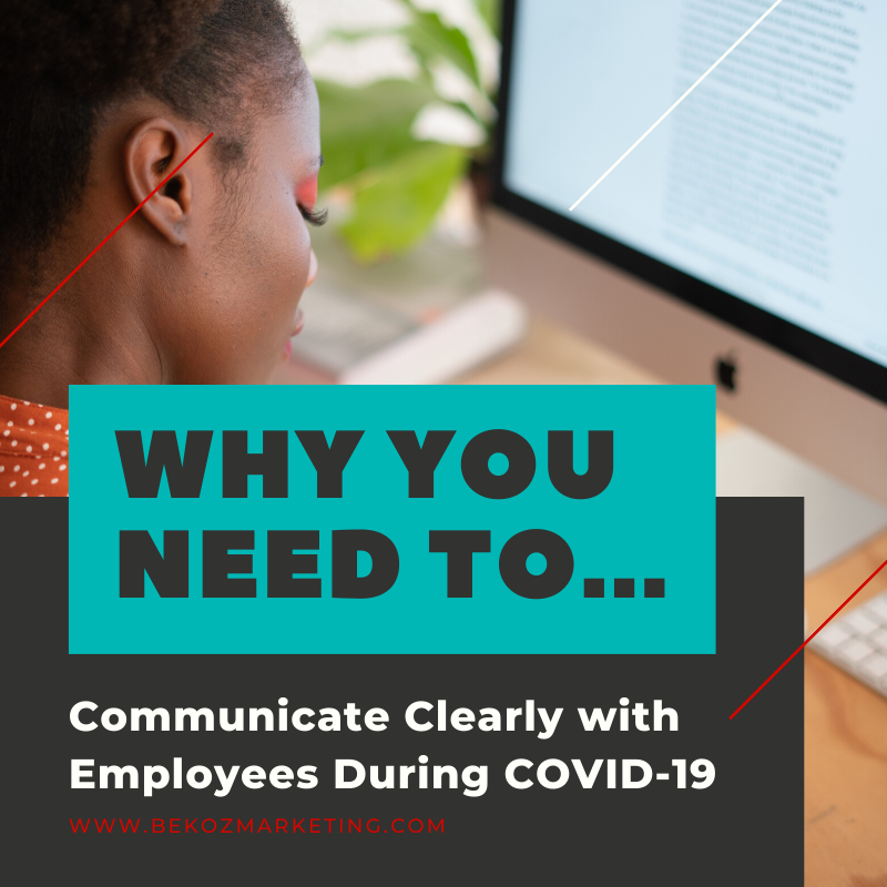 How have you been communicating with your employees? #MarketingMonday #COVID19 #communication