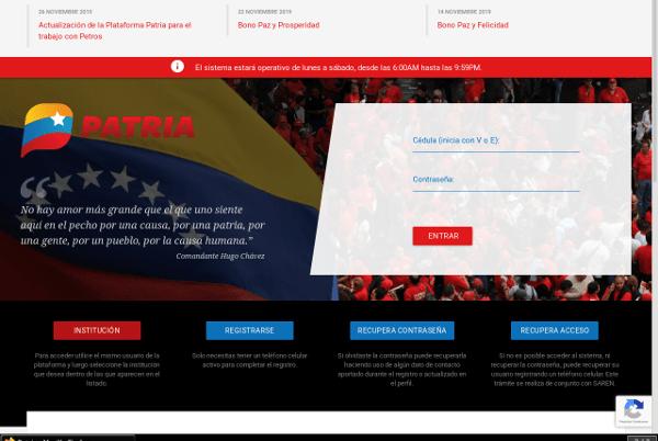 Nueva consulta de la Plataforma Patria busca optimizar cuarentena nacional. 📡👉 bit.ly/2TepFaT #QuédateEnCasa #RedoblemosEsfuerzoYPrevención