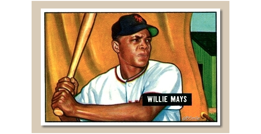Today In 1951: New York Giants rookie Willie Mays makes his major league debut! The future HOF'er goes 0-5 in his first game at Shibe Park, Philadelphia. #MLB #SFGiants #Baseball #History https://t.co/yLHesDuymI