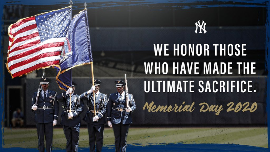 Today, we remember the courageous men and women who gave their lives for the freedom of our nation.