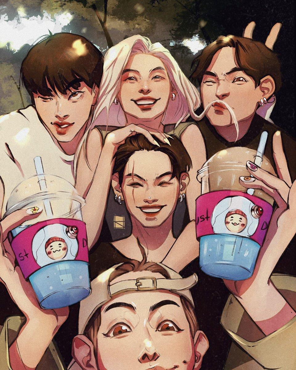 This is a the photo we all need  I've  missed baby Yoonji soooooooooo much  #btsfanart <br>http://pic.twitter.com/O7zvXPmFkI