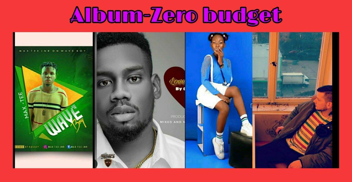 Album zero budget out  Featuring crush ,Max tee,shave ,queen #hiphop #music #artist #musician #producer #studios #beatmaker #zerobudgetalbum #dcruz #rapper #rap #pop #singer pic.twitter.com/u0FjB1IaMB