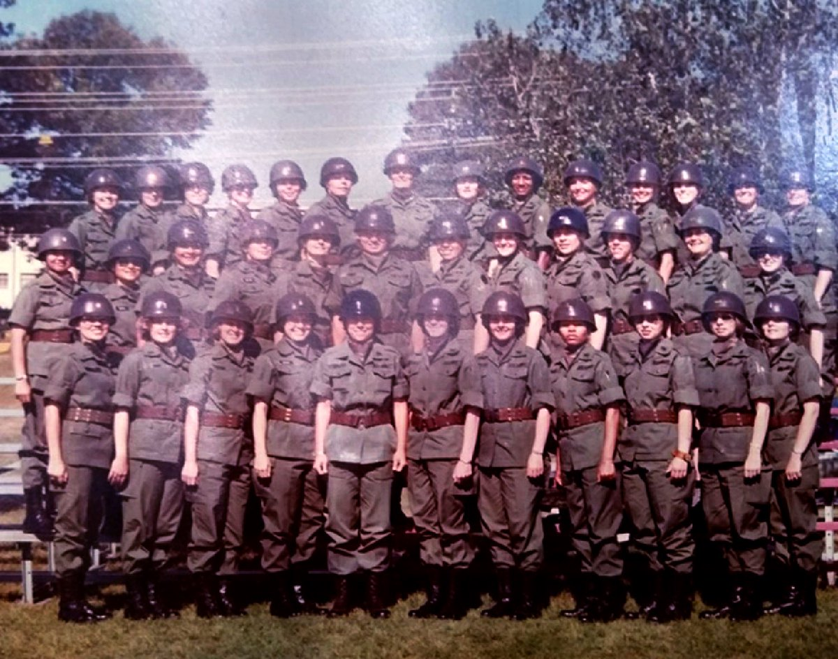 We've come a long way. 1976 was the last gender-segregated class to become officers in the Army. The Women's Army Corp was eventually dissolved, and today there is only one US Army. I was honored to have been a part (2nd row, far left); one of only a hand full of minority women. https://t.co/0ZfwZuSNb5
