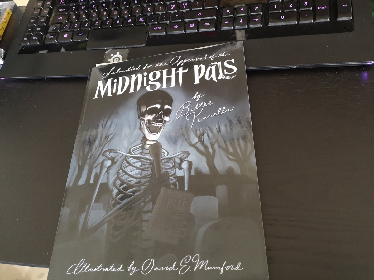 test Twitter Media - Submitted for the approval of the @midnight_pals: this arrived on the best damn day it could've.  I can't wait to read it! https://t.co/5eTqxA9hgr