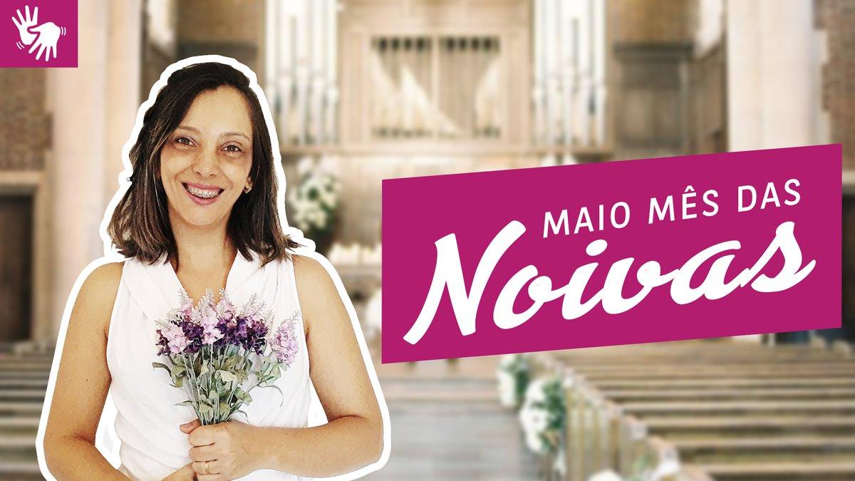 Maio é conhecido como o mês das Noivas e casamentos. Neste vídeo iremos aprender palavras e frases em LIBRAS relacionadas a este momento tão especial. https://youtu.be/0wI450s1_LQ  #mesdasnoivas #noiva #noivo #casamento #noivado #padrinho #madrinha #pagem #daminha #igreja #pastorpic.twitter.com/2ocApVUpWH