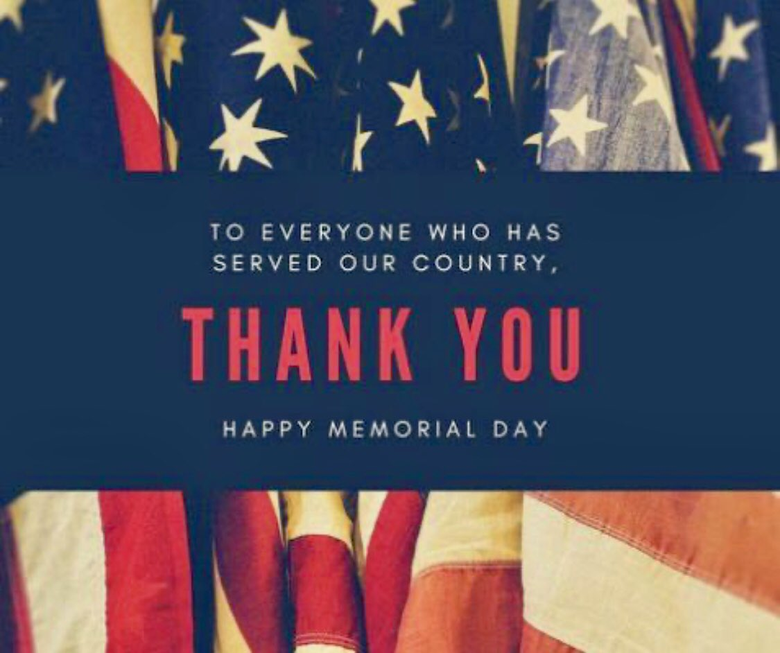 Thank you to all those who made the ultimate sacrifice.❤️🤍💙🇺🇸