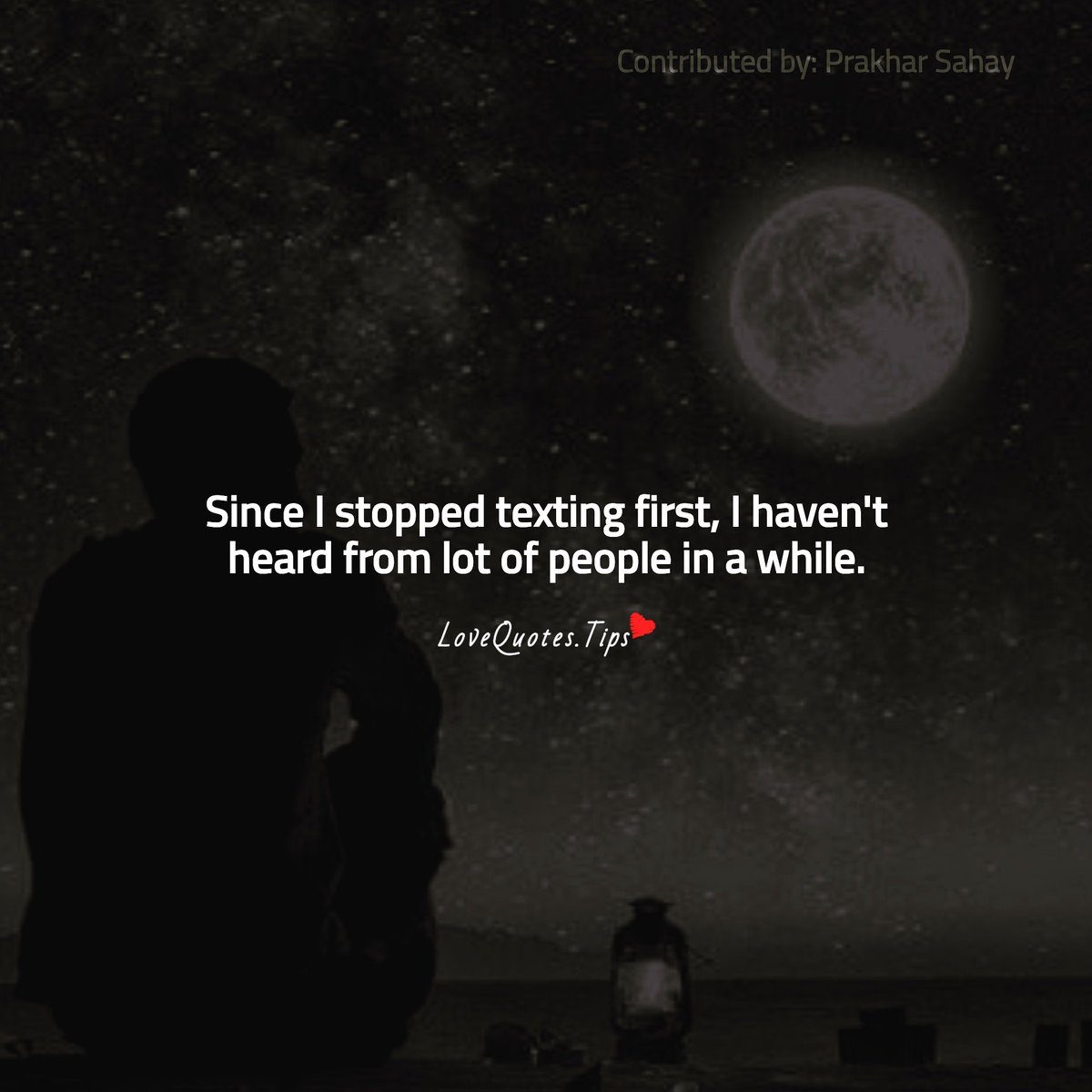 Since I stopped #texting first, I haven't heard from lot of people in a while. #Lovequotes #ťhoughtofthedaypic.twitter.com/lf6GvLcZJo