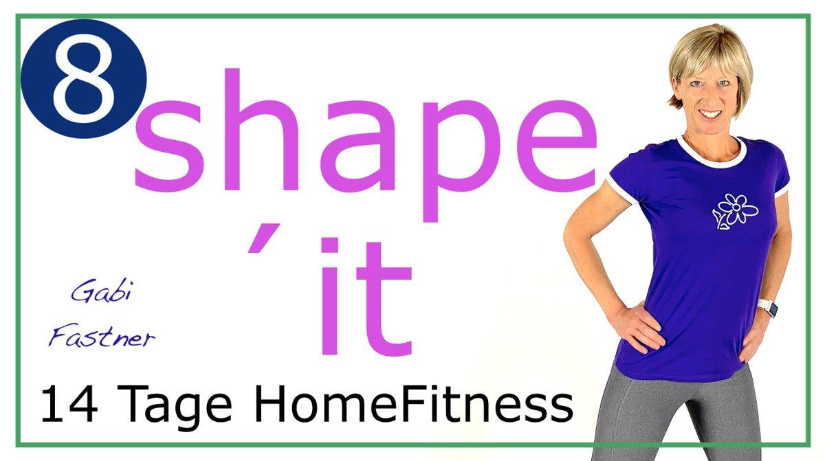 """Teil 8 der 14-Tage Homefitness Challenge. """"14.8 45 min. shape´it HomeFitness   ohne Geräte"""" https://www.youtube.com/watch?v=_ibKFAGfjyw… Viel Freude und Erfolg. #Training #Fitness #abnehmen #Figur #Sport #indoor #stayathome #zuhausebleiben #bleibzuhausepic.twitter.com/tp7clFb65R"""