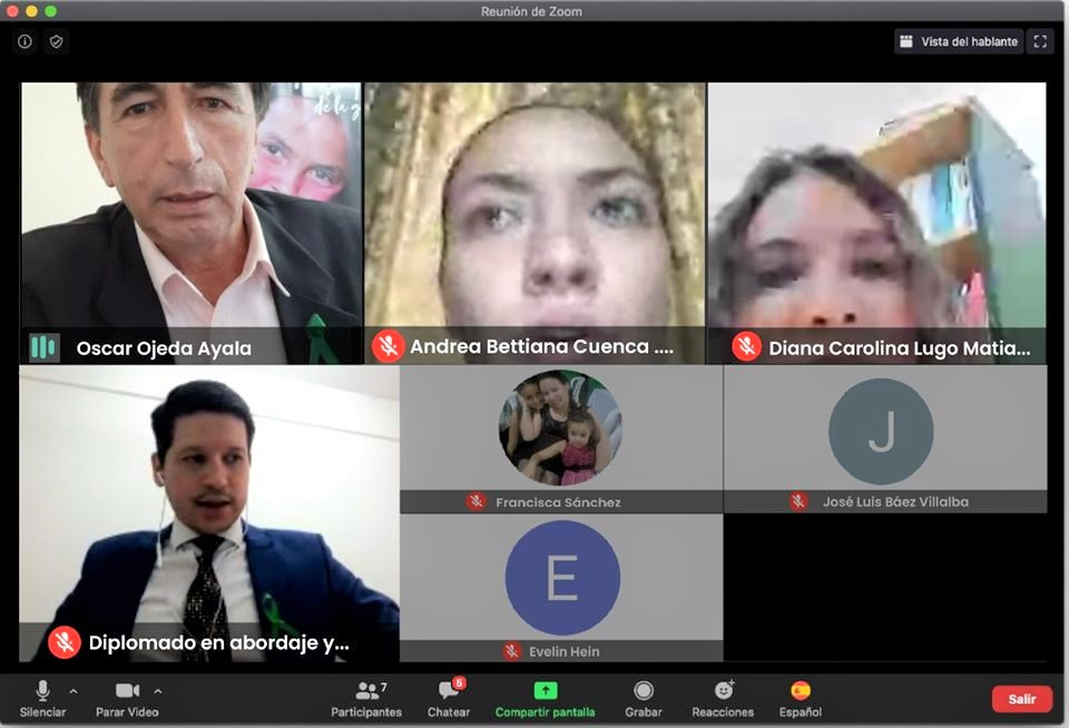 Secretaría Departamental de la Niñez y Adolescencia en reunión virtual con las CODENI de #Itapúa, se habló acerca de los trabajos realizados en este sentido a nivel regional, y los protocolos a seguir en caso de denuncias de explotación y abuso en niños y niñas. #Denunciáal147pic.twitter.com/on8aN1cBhz