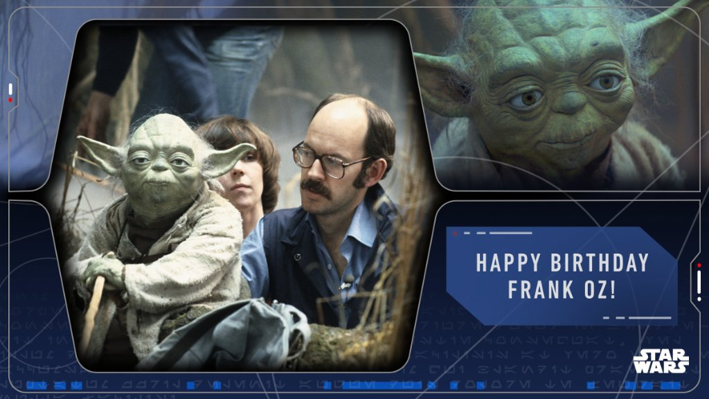 Join us in wishing the master himself, @TheFrankOzJam, a happy birthday today! https://t.co/VejbHMikle