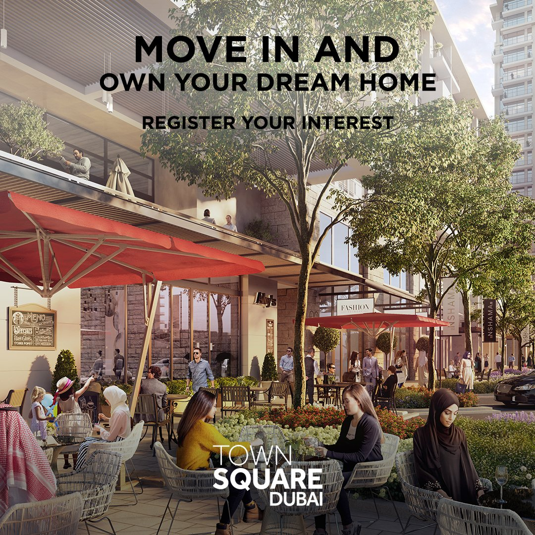 Fantastic offer available in #Nshama #Townsquare #Dubai  Pay 20% and get keys to your  2-3 bed apartment with amazing amenities, balance paid over 5 years. For info contact us on +971525596613 #realestate #realtor #luxuryproperty  #mydubai #mydxb #investment #money #simbajames