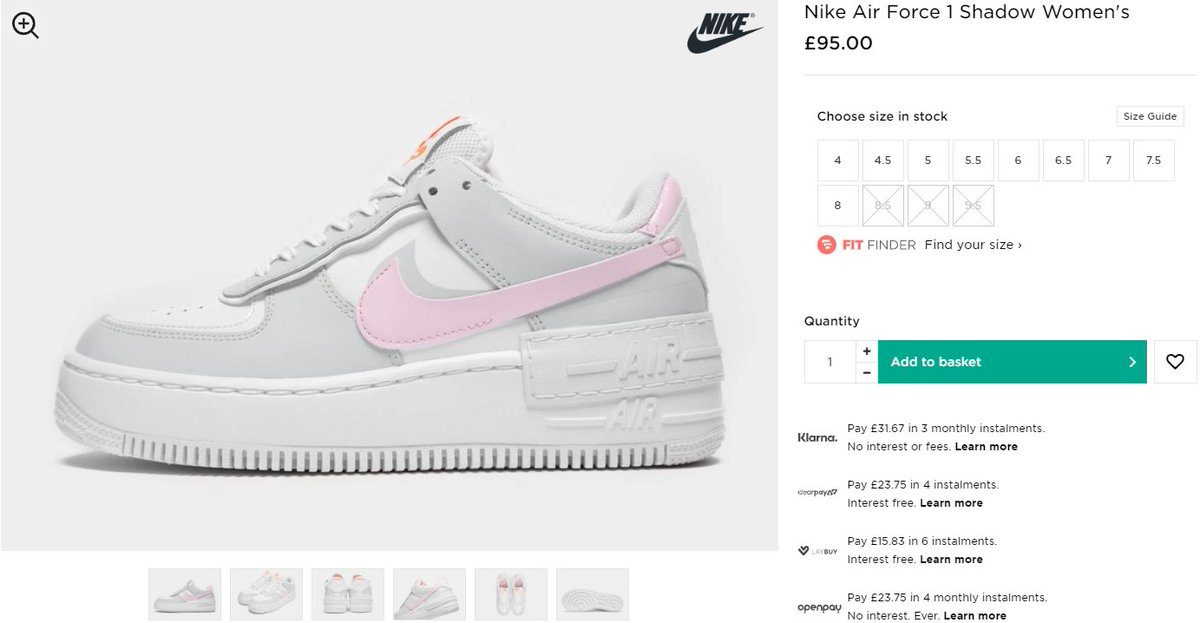 Sneaker Myth On Twitter Ad Nike Air Force 1 Shadow Wmns Grey Pastel Live At Jd Sports Uk Https T Co Ihhou05w3e Consigue en jd tus zapatillas nike air force 1. twitter