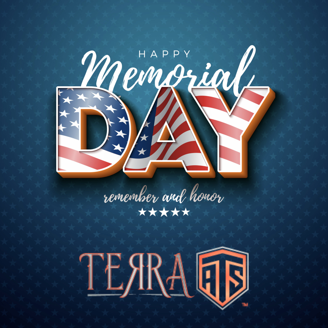 Happy Memorial Day from us at Terra ATS!!   #memorialday #holiday #USA #patriotic #Houston #Texas #webdesign #webdesigner #webdeveloper #ux #ui #uidesign #webdesigntrends #coderlife #programmer #softwareengineer #javascript #codinglife #coding<br>http://pic.twitter.com/Z89dJN2Wgj