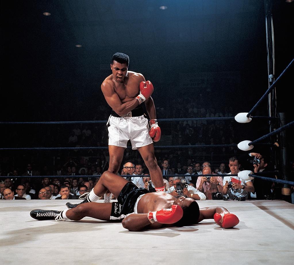 Muhammad Ali defeated Sonny Liston 55 years ago tonight, Lewiston, Maine: #Leifer