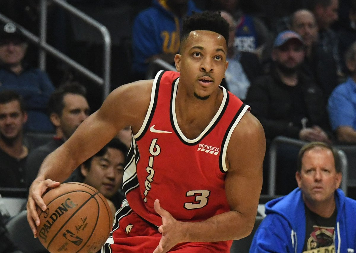 CJ McCollum almost quit basketball, thank goodness his mom stepped in  -- https://t.co/LdYUjuKz9G #RipCity https://t.co/YsdWtSbEzH