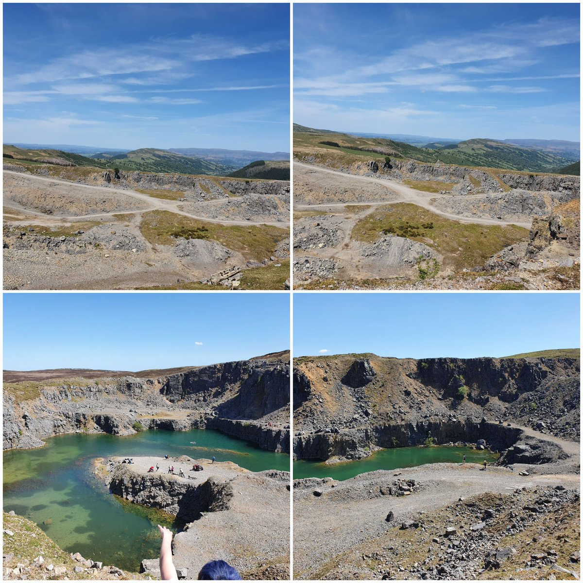 the blue pool in trefil is not a myth #views x pic.twitter.com/E4JUWIH7U5