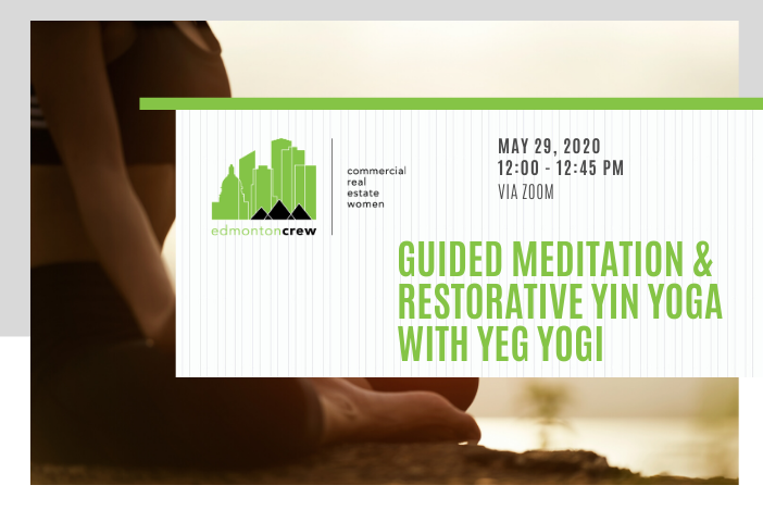 Register now for our May 29 members only wellness event! Join us and @YEGYOGI to unwind, calm our overstimulated minds, and work our deep connective tissue. Suitable for all levels.  Register here: https://bit.ly/2ZA7Oih   #crewwellness #crewevents #wellness #yoga #yinpic.twitter.com/nDHTzVXxsn