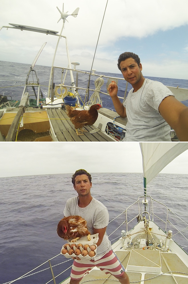 "Join 13 people right now at ""Adventurous Man Sails Around The World With His Pet Chicken"" #cheers #beer #pizza #games #entertainment #humor #comedy #sadanduseless #chicken #sailor #adventurous #sails #around #world https://t.co/8su6D8nckM https://t.co/EKHSKJ07wd"
