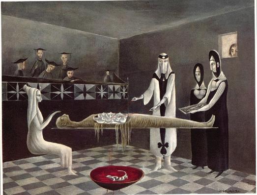 Adieu Ammenotep, 1960 #surrealism #leonoracarringtonpic.twitter.com/a2yW6ukOC0