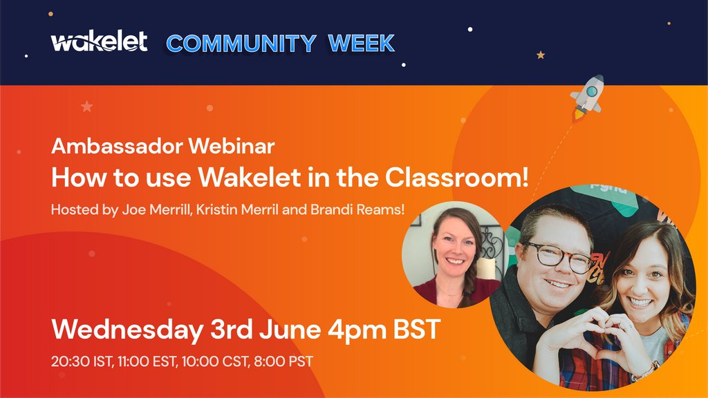 🌊 Are you going to ride the wave into our @wakelet webinar? 🌊 Join us for our session which will cover how you can use Wakelet in the Classroom! 👉Register here: buff.ly/2TCStKe