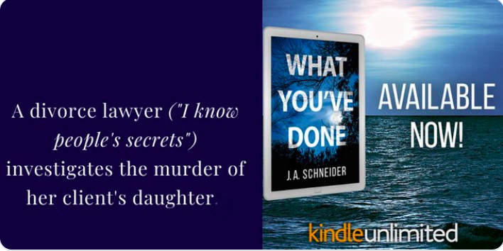 """#NEW  """"...terrifying chapters from the killer's POV"""" """"Excitement like a runaway train."""" """"A great psycho-#thriller"""" #PsychologicalThriller #RomanticSuspense #CrimeFiction #amwriting #bookblogger #amreading   http://getbook.at/WhatYouveDonepic.twitter.com/7hVRVKskQl"""