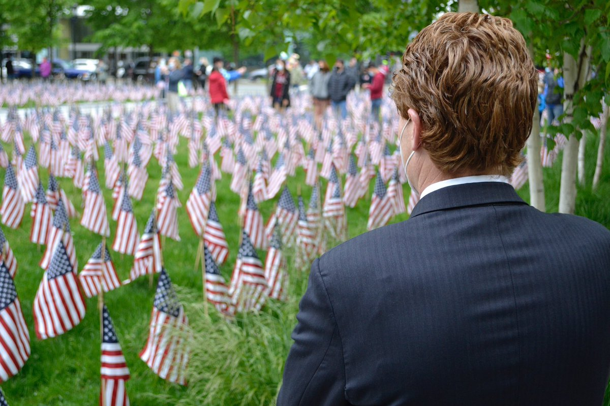 A grateful nation remembers.
