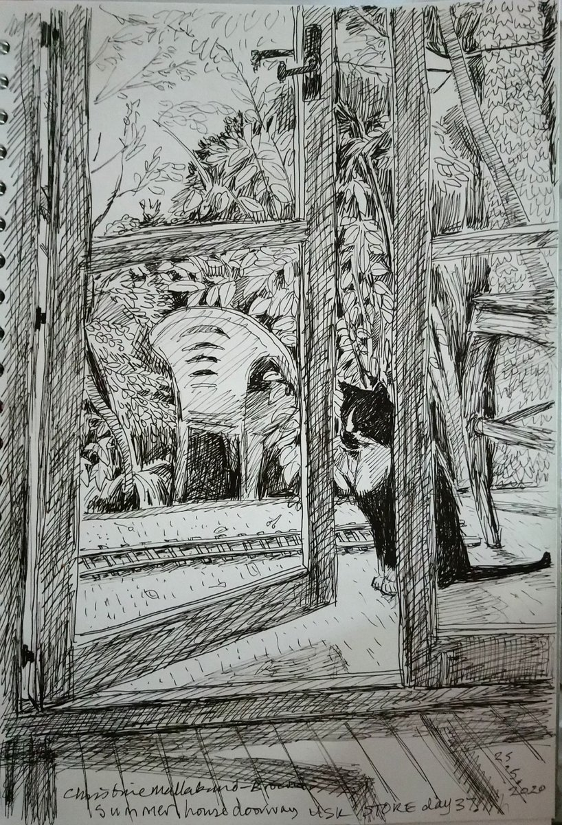 #GraysonsArtClub for the theme home... View in the garden from the summerhouse <br>http://pic.twitter.com/cbvwyaffqJ