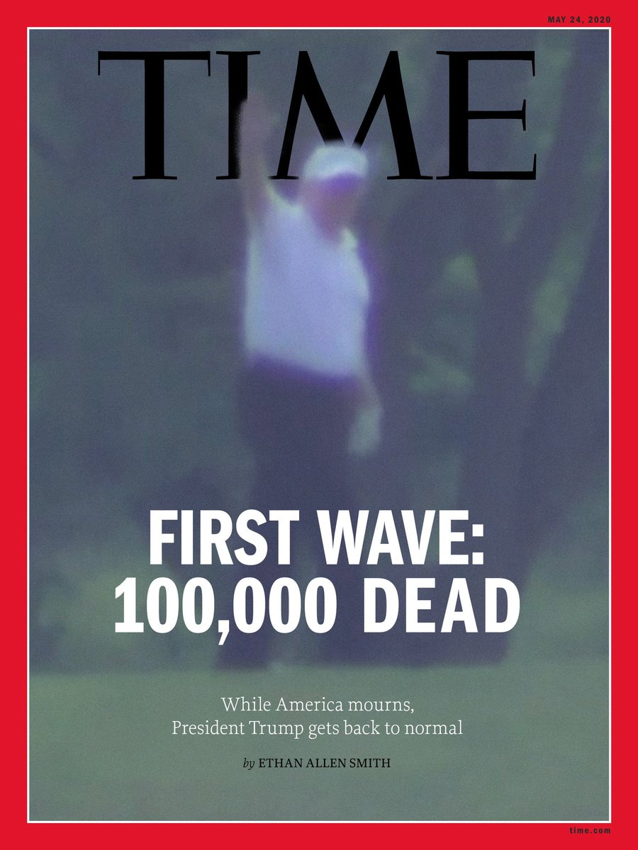 @realDonaldTrump GREAT REVIEWS? This is NOT a game show. Your inaction directly led to 100,000+ American deaths.