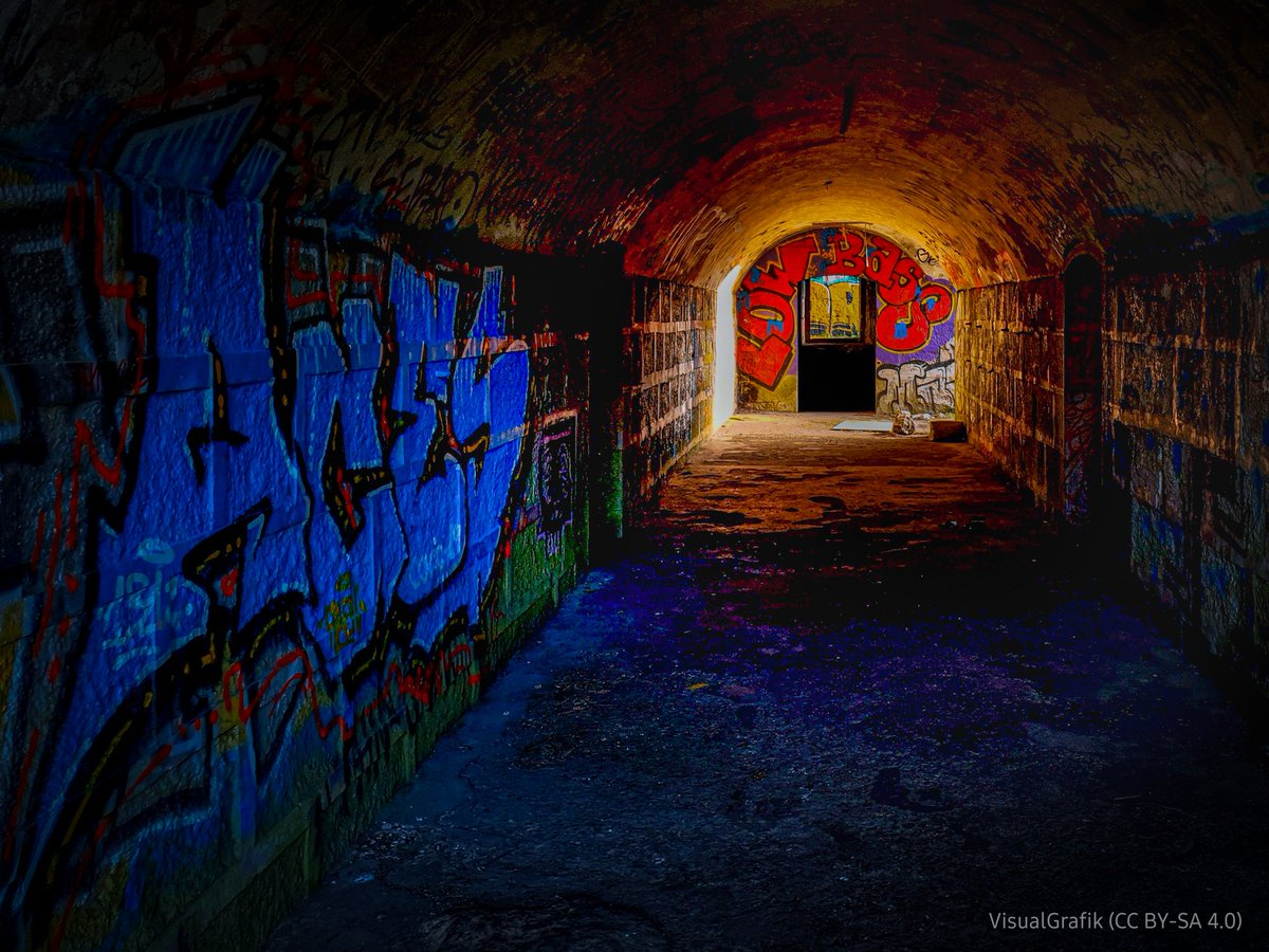 Fortress Underground. #VisualGrafik (CC BY-SA 4.0)  #Donostia#SanSebastian  #Oarsoaldea #Errenteria  #Gipuzkoa #EuskalHerria #PaisVasco #Euskadi #BasqueCountry  https://t.co/4ZY3nzA6uK https://t.co/Kgpl1wspxH