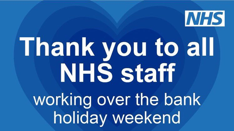 To everyone working today in our hospitals, GP hubs, pharmacies & communities, thank you.
