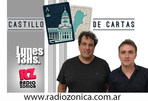 #AIRE #RadioZonica #GrupoZonicaEnCasa  Fernando Barrera y Germán Palladino hasta las 15hs te acompañan desde casa. Escuchá #CastilloDeCartas ¡No te lo pierdas!   #GrupoZonicapic.twitter.com/SYuYIBdbkN