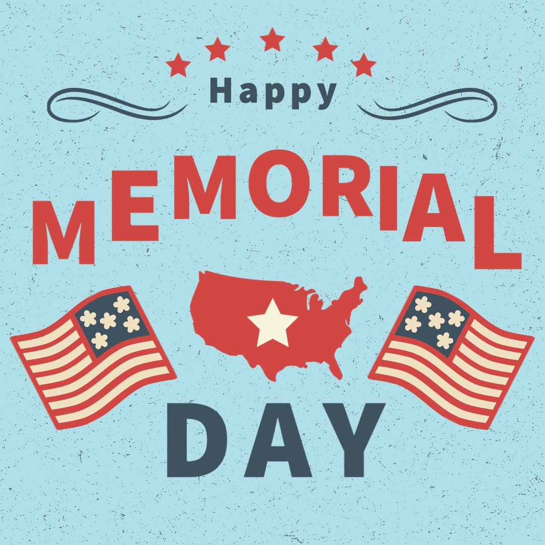 This Memorial Day, and every day, we honor the sacrifices that so many have made to help protect our freedom. Thank you. ❤️🤍💙