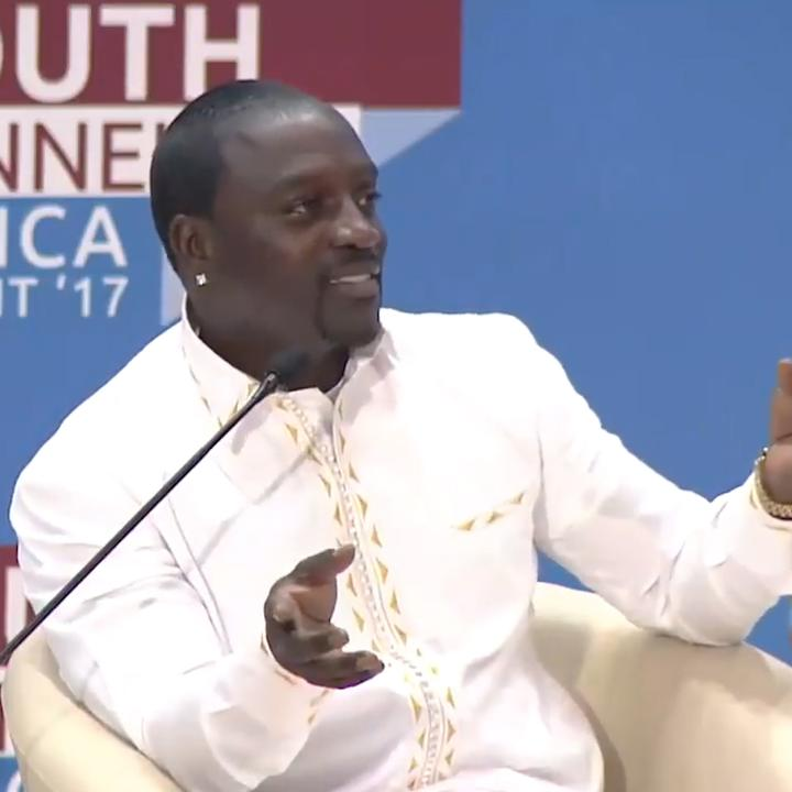 .@Akon is breaking down stereotypes about Africa — and we're here for it 🙌 #AfricaDay