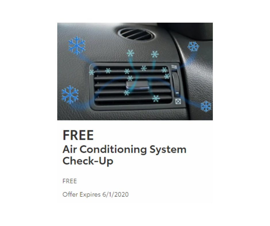Summer's just around the corner - and you don't want to get caught without any AC in your vehicle! Make an appointment with our service department today! https://bit.ly/3cHWcxG #toyota #toyotaservice #Accheckuppic.twitter.com/eOpd4vBkYD