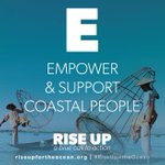 Image for the Tweet beginning: #RiseUp4theOcean by empowering & supporting