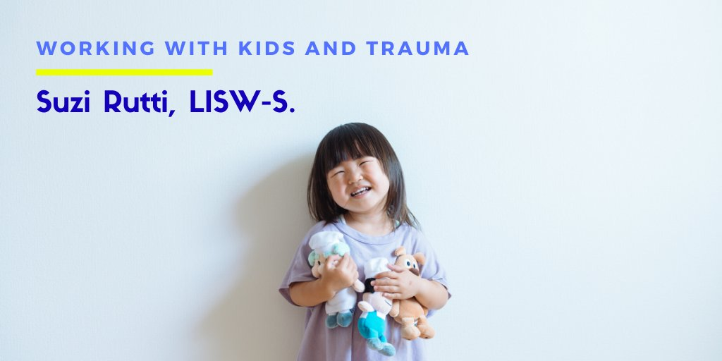 Suzi Rutti, LISW-S. Working With Kids and Trauma. First, a huge-thank you to my sponsors for this episode @cptsdfoundation and Sensorimotor Psychotherapy institute. Listen to Suzi's interview here: https://t.co/0T9Nfk6xDS https://t.co/sdXaTnYoeI