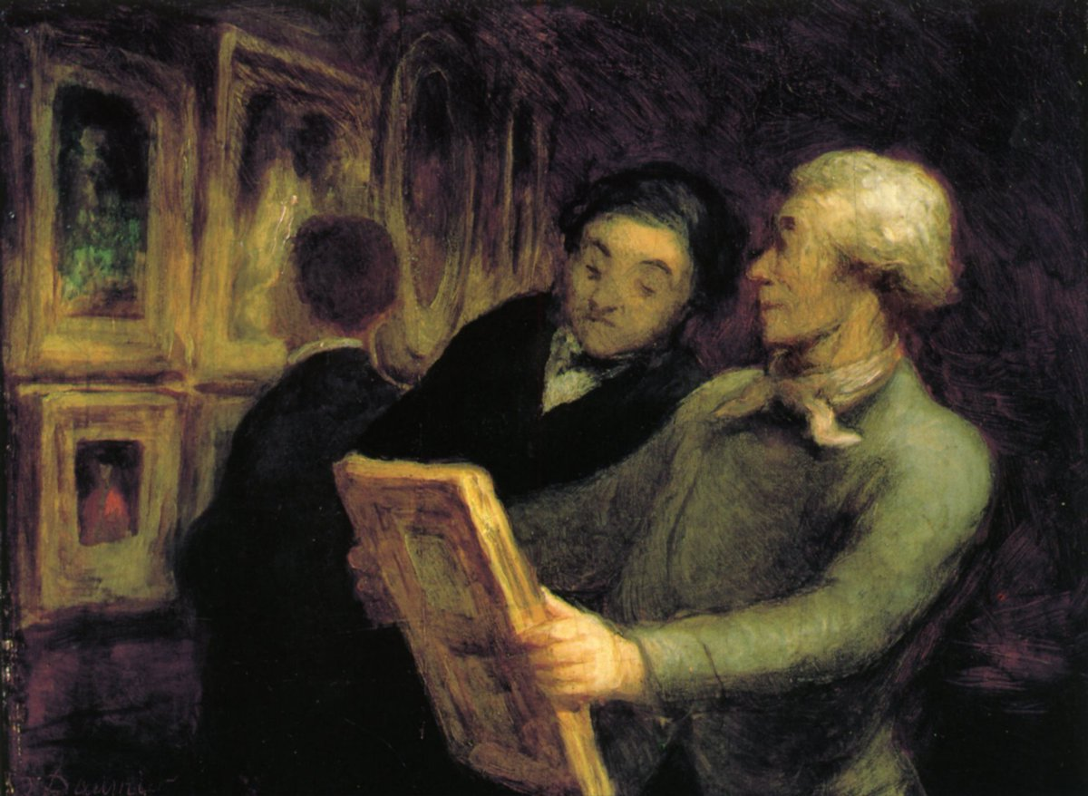 Amateurs in an Exposure #honoredaumier #frenchart<br>http://pic.twitter.com/7F2r0vyVXd